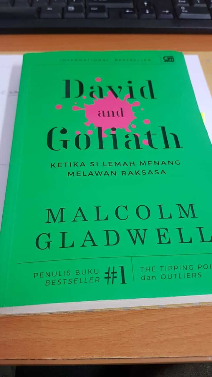 revew buku David and Goliath - Malcolm Gladwell