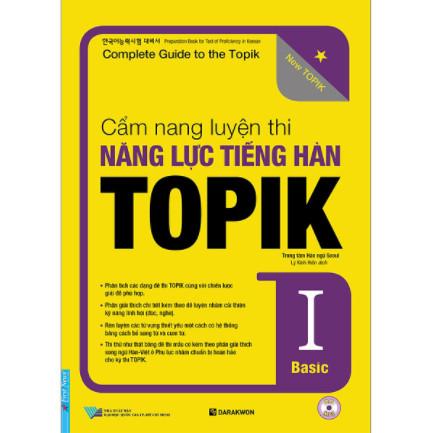 Cẩm Nang Luyện Thi Năng Lực Tiếng Hàn TOPIK I Basic ebook PDF-EPUB-AWZ3-PRC-MOBI