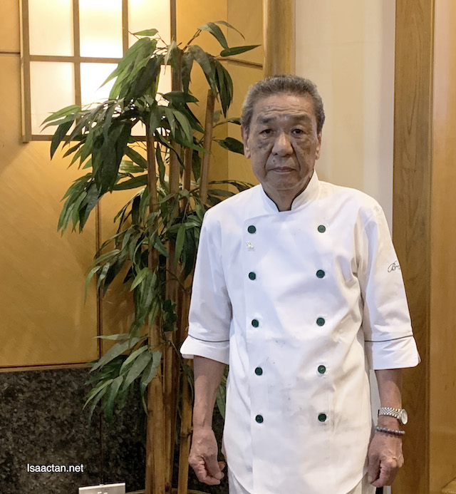 Certified Chef by the Ministry of Royal Japan, Chef Tsuneyoshi Komatsu San