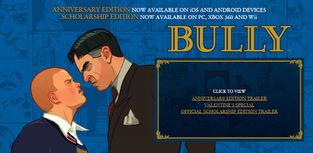 Bully: Anniversary Edition is Available on iOS AND ANDROID DEVICES