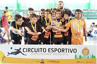 OSC CEACRI de Itapiúna promove Circuito Esportivo de Futsal para crianças