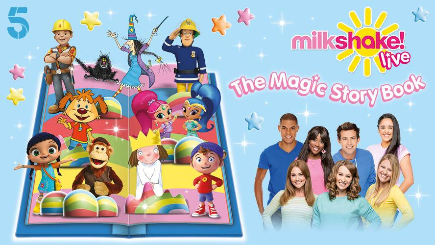 Nickalive Channel 5 Announces Milkshake Live The