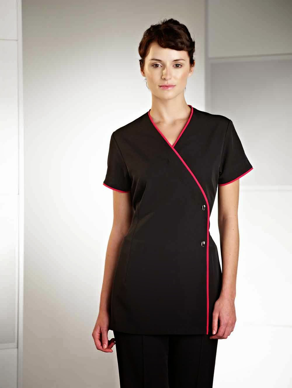 Beautician uniforms for Spa uniform tunic