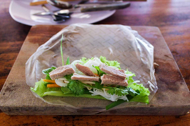 vietnamese salad roll beef