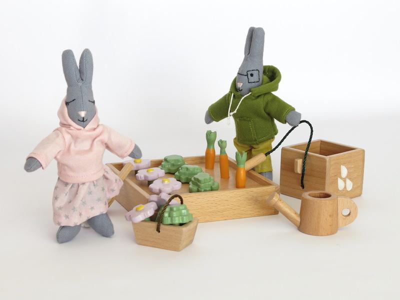 rodzinka króliczków