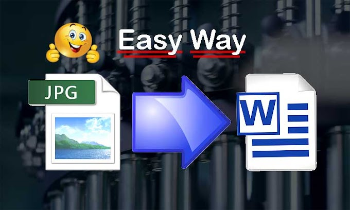 Two ways to convert JPG file into Word format | File Converter