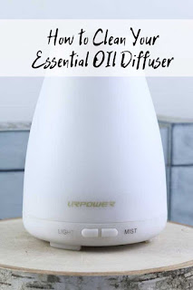How to clean your essential oil diffuser.  If you use essential oil diffusers, you need to clean them.  Here's how to lightly clean your oil diffuser and how to deep clean your essential diffusers   If you use essential oils in diffuser often, then you should be cleaning it often and deep cleaning it once a month.  Having a clean diffuser will help it work better and last longer.  #essentialoils #essentialoildiffuser #diffuser #clean #cleandiffuser