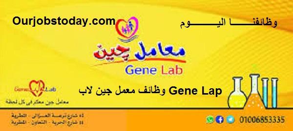وظائف محاسب عملاء لشركة مستلزمات طبية جين لاب Gene Lap