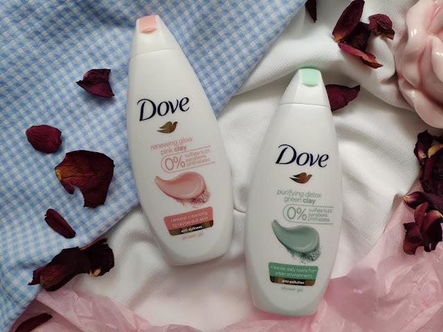 Nowe oczyszczające żele pod prysznic z glinką od Dove