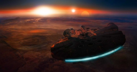 Millennium Falcon és az Ellenállás