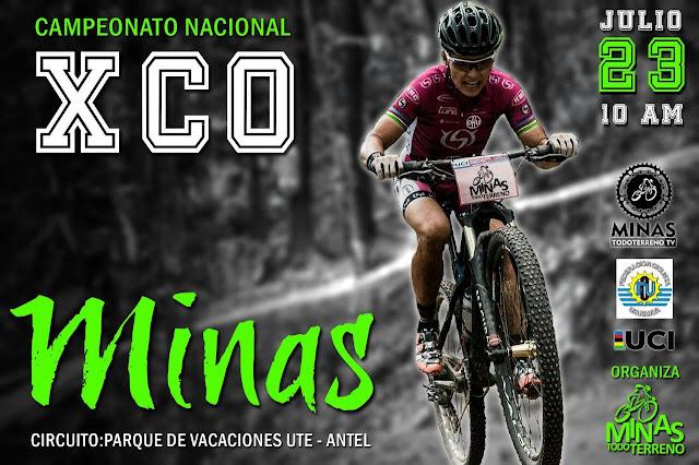 MTB - XCO en Minas (Lavalleja, 23/jul/2017)