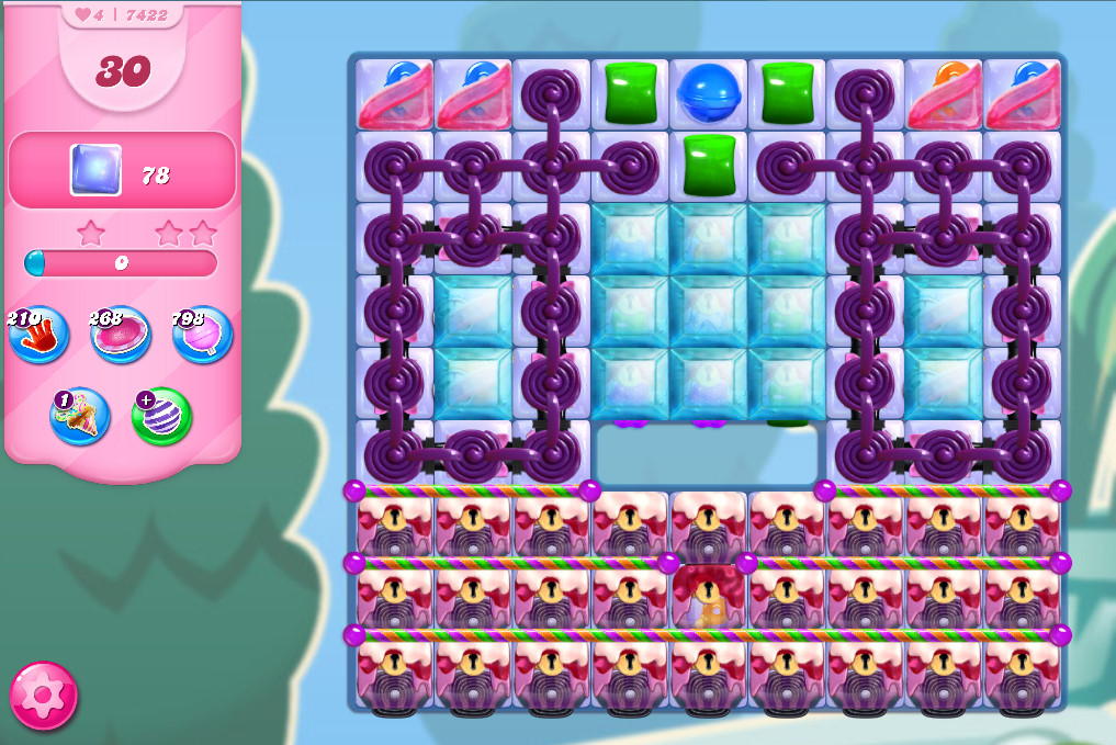 Candy Crush Saga level 7422