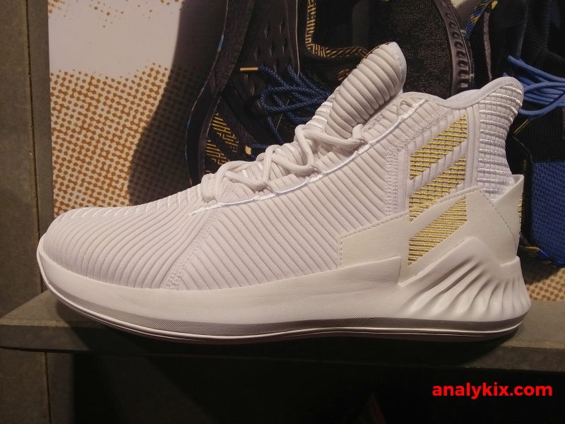 3cafb4c83648 adidas DRose 9 White Gold