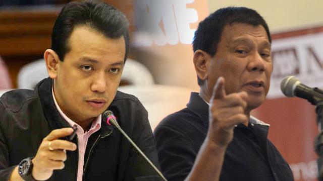 Duterte calls Trillanes as 'paid, dakilang askal'