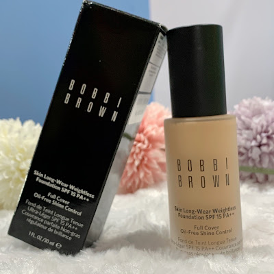 BOBBI BROWN SKIN LONG-WEAR WEIGHTLESS FOUNDATION SPF 15 PA++ (REVIEW)