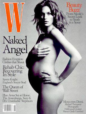 Cindy Crawford Nude Pregnant 47