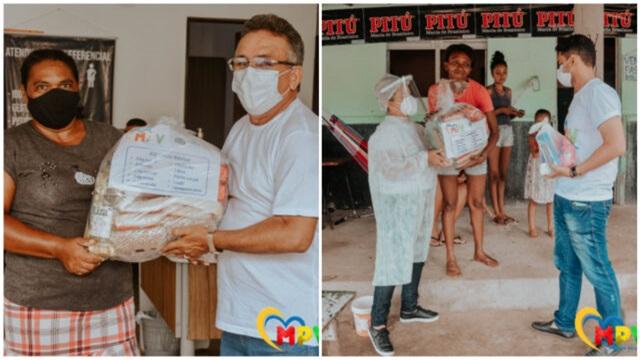 Prefeitura de Malta dá início a mais uma etapa de doação de cestas básica para os mais necessitados