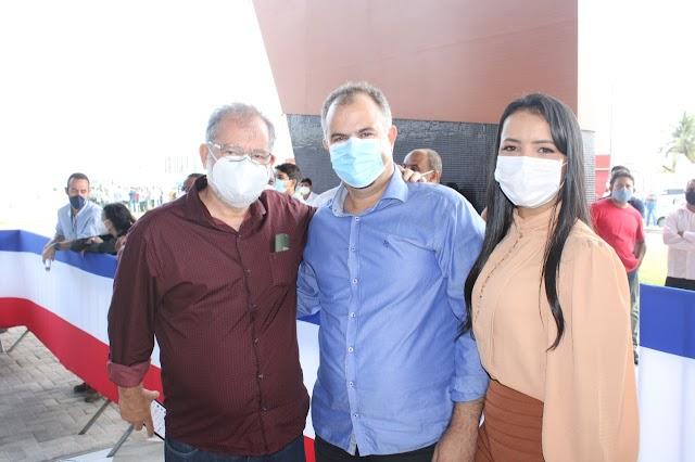 Em inauguração de Policlínica em Ribeira do Pombal, Deputado Federal Marcelo Nilo comenta sobre articulações políticas