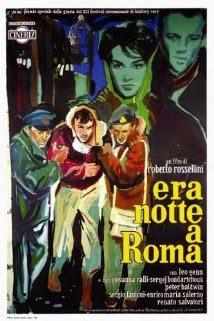Resultado de imagem para Era Noite Em Roma filme