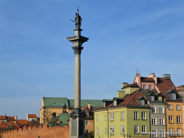 viajar a Varsovia, ruta por el casco antiguo