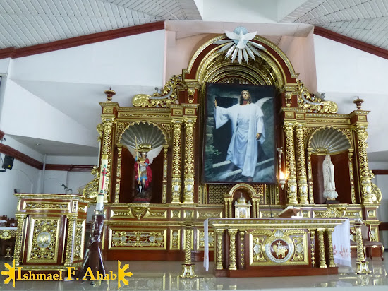 Altar of Saint Michael the Archangel Chapel in Fort Bonifacio
