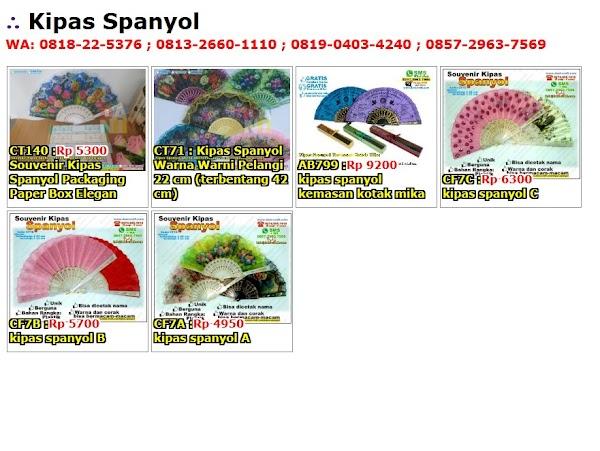 Daftar Harga Kipas Spanyol