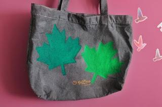Barwienie i malowanie torebki diy