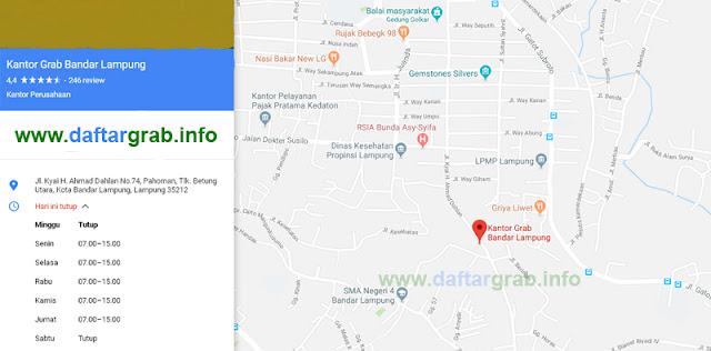 Kantor Grab Bandar Lampung