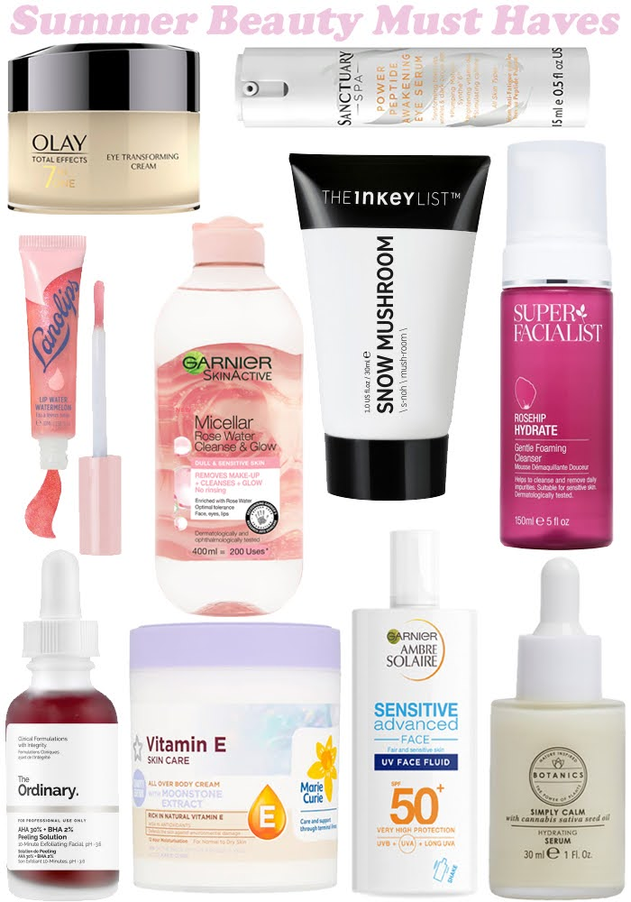 Summer 2020 Beauty Must Haves
