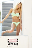 Ellie Ottaway sexy bikini models photoshoot for Peixoto Swimwear 2017