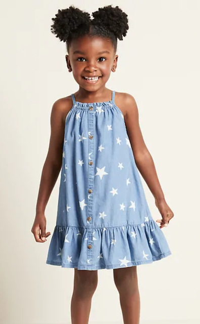 Old Navy Star Peplum Dress