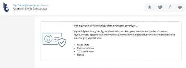 طريقة الغاء خط الإنترنت عن طريق برنامج اي دولات e-Devlet