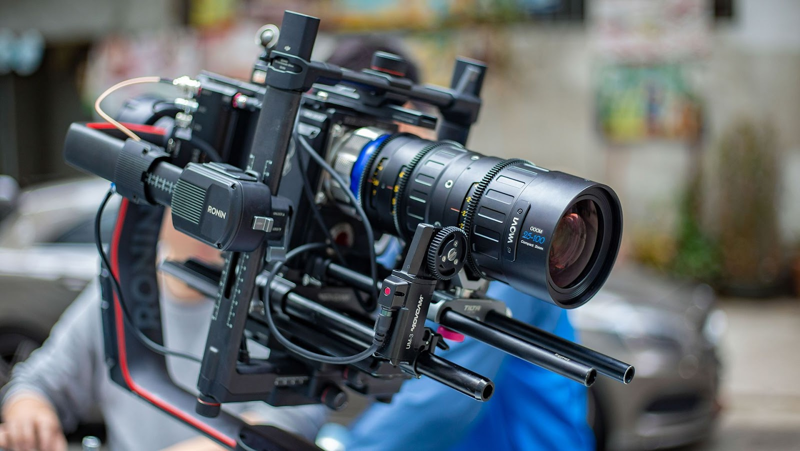 Laowa OOOM 25-100mm T2.9 Cine с камерой