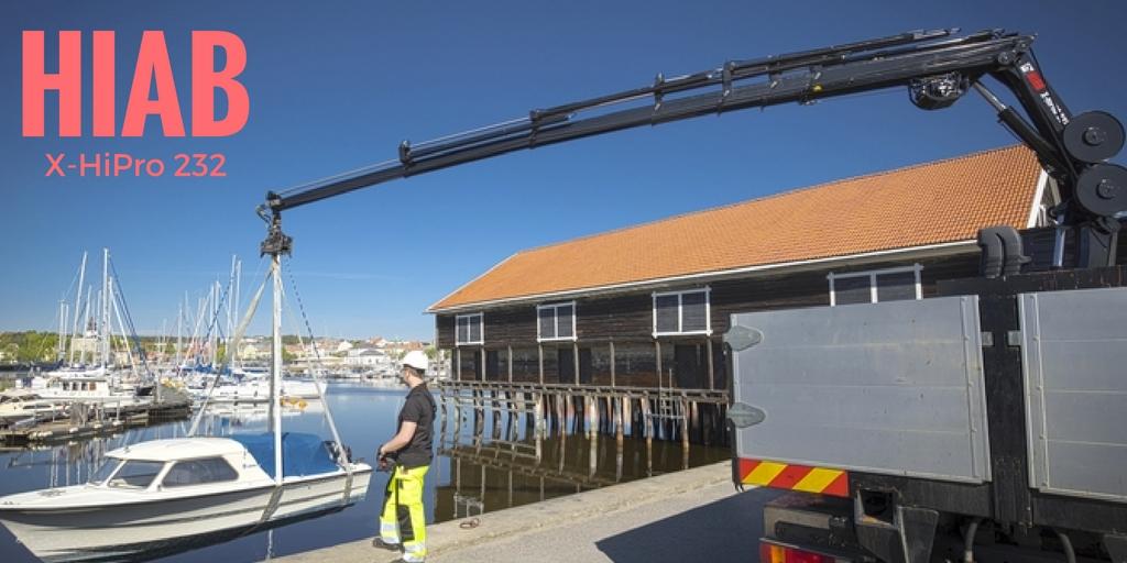 Hiab X-HiPro 232 loader crane (20ton-metre)