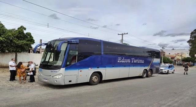 Ônibus vindo de São Paulo