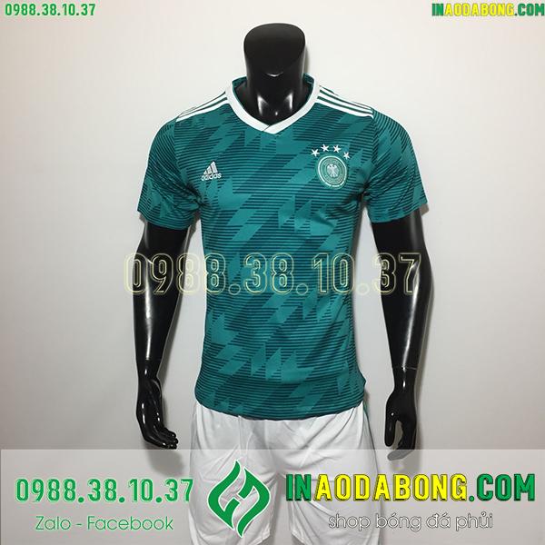 Áo bóng đá đội tuyển Đức màu xanh