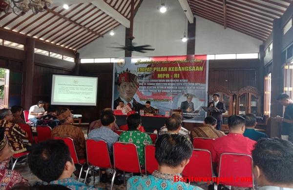 WMY Sosialisasikan Empat Pilar Kebangsaan MPR-RI