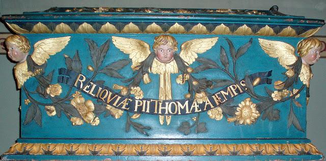 Relikwiarz Tomasza a Kempis. Fot. Wikimedia Commons/Onderwijsgek