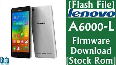 Cara Flash Lenovo A6000 dengan QFIL Work !