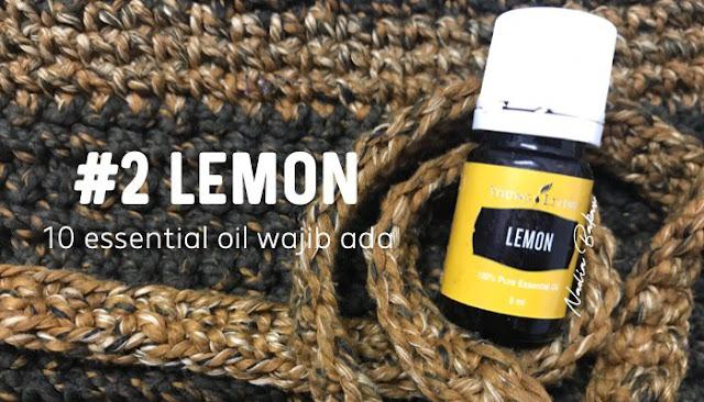 10 essential oil penting dan wajib ada : Lemon