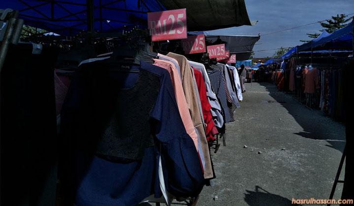 Pasar Kemboja Tempat Shopping Wanita Hari Sabtu
