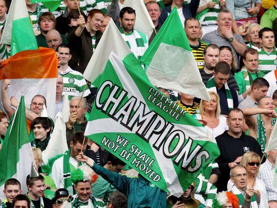 Celtic este noua campioana a Scotiei