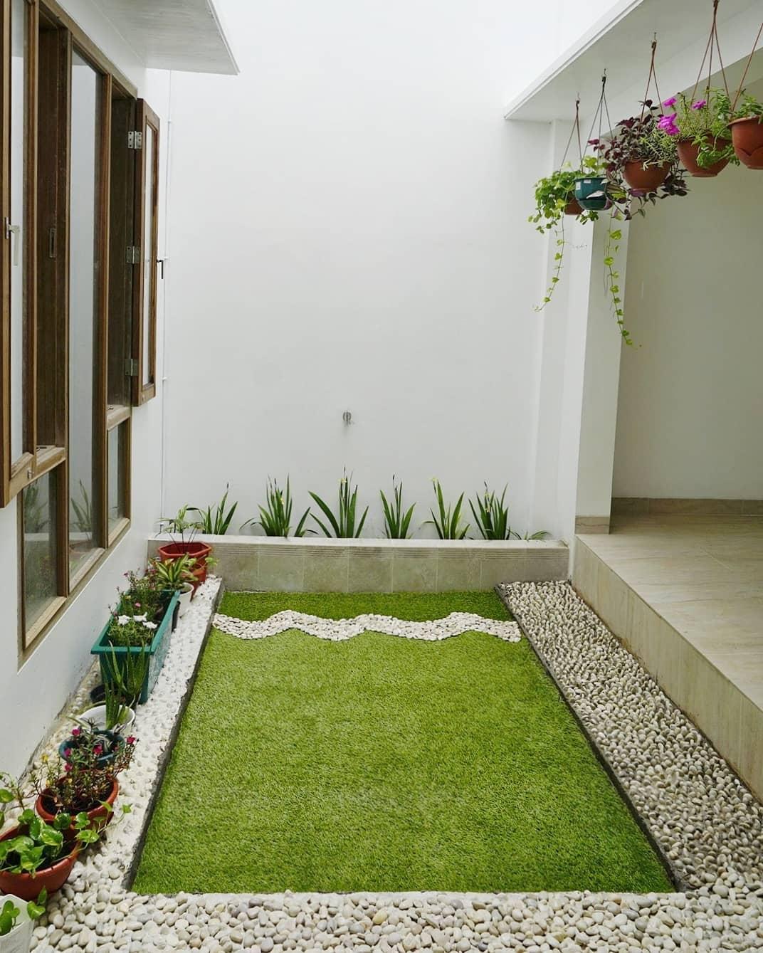 taman indoor minimalis