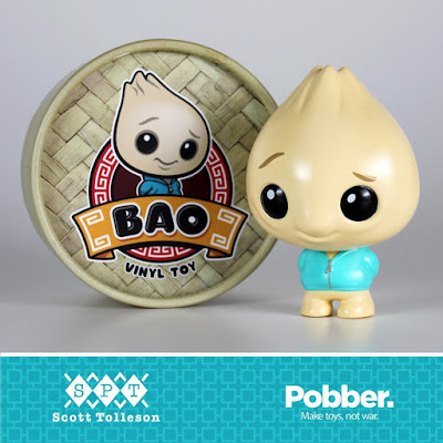 Designer Con 2017 Exclusive Bao Vinyl Figure by Scott Tolleson x Pobber