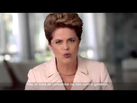 POLÍTICA: Dilma divulga nas redes sociais pronunciamento sobre impeachment