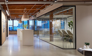 What are the interior design trends for offices