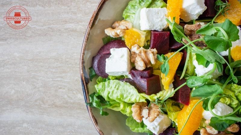 Probiotic salad: transform your salad into a superfood