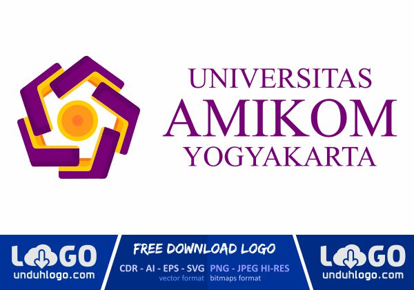 Logo Universitas Amikom Yogyakarta
