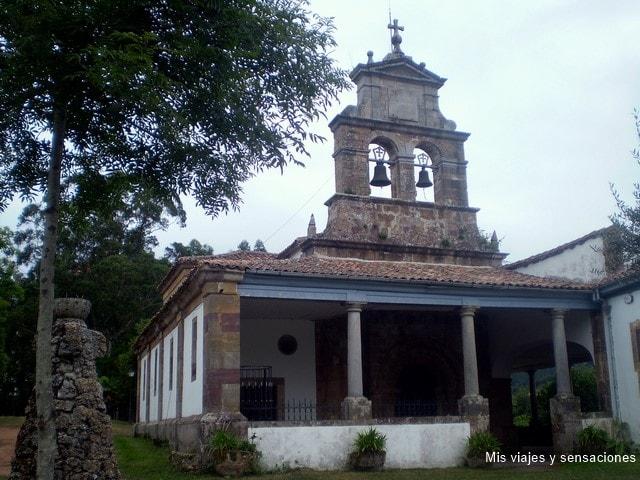 Iglesia de Santa María de Ligás, Ruta del Románico en Asturias