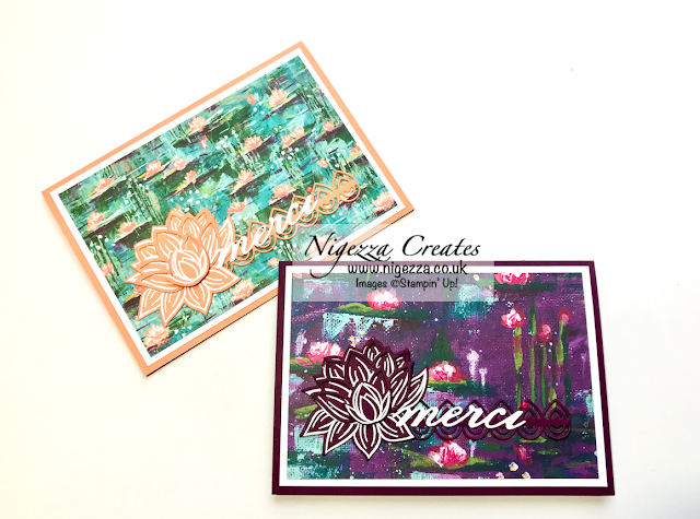 Nigezza Creates with Stampin' Up! Lily Pad Dies